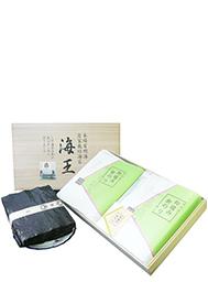 <有明海苔>最高級焼海苔・旬海王(桐箱入り16袋) 有明 【送料無料】