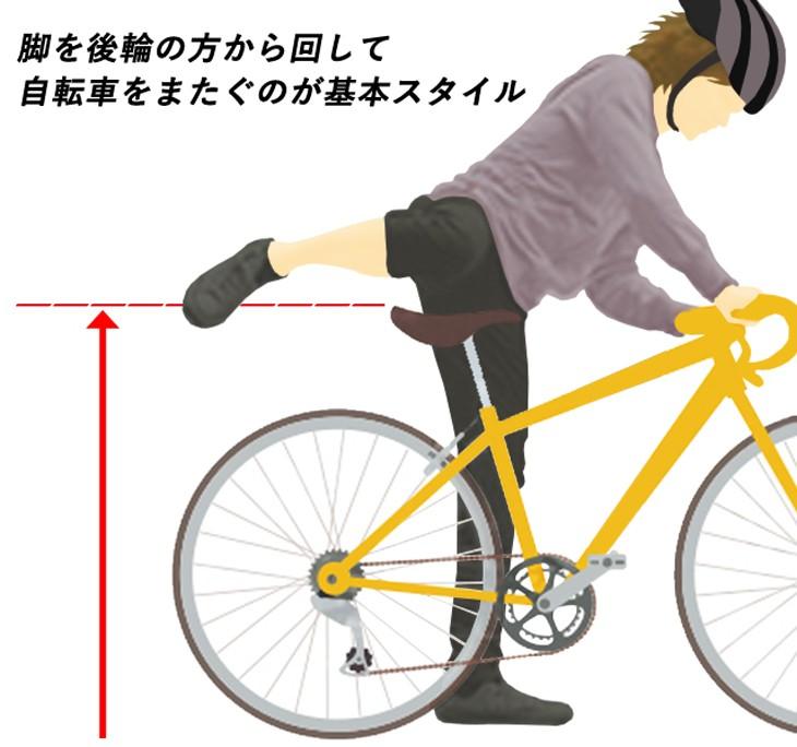 スポーツバイクの乗り方