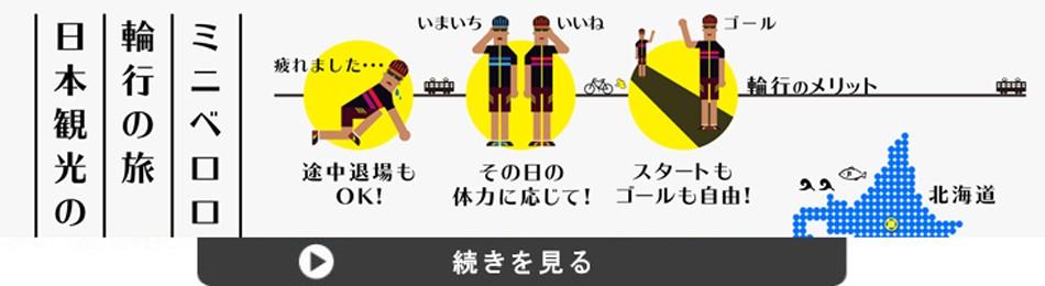 輪行の旅・日本観光のすすめ