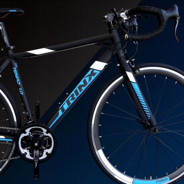 ロードバイク 補助ブレーキ付 700C シマノ 21段変速 入門 初心者 自転車本体 通勤 通学もおすすめ TRINX-TEMPO1.0 2018年モデル|isshoudou|10