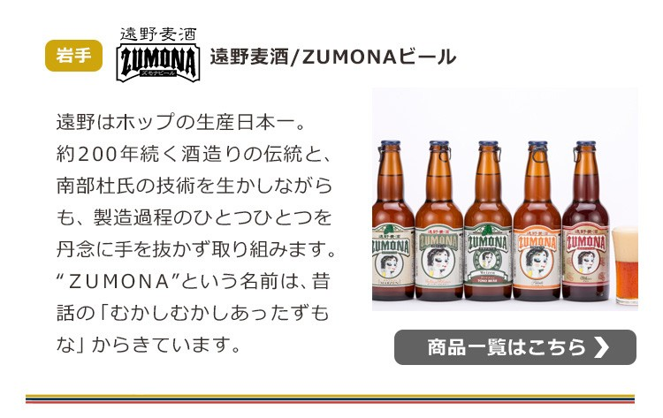 ZUMONAビール