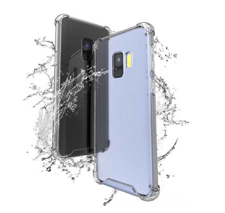 af3134ee83 Samsung Galaxy S9 クリア ケース TPU 耐衝撃 シンプル ベーシック ...