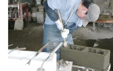 職人の手作り 奥能登 切り出し 珪藻土七輪