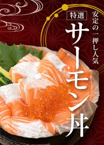 【特選】サーモン丼