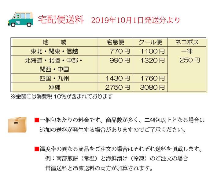 2019新送料