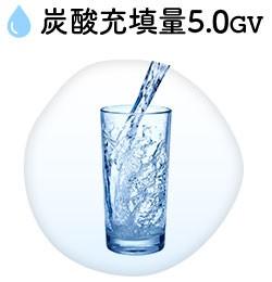 炭酸充填量5.0GV