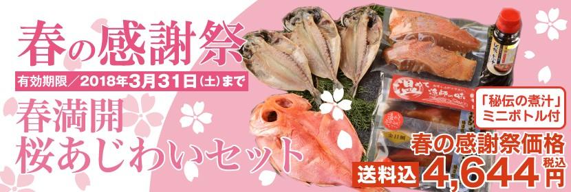 春満開 桜あじわいセット 春の感謝祭