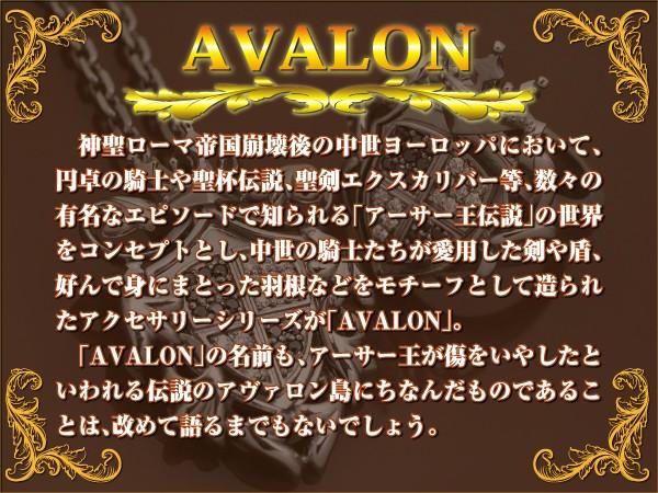 中世の伝説世界『AVALON』