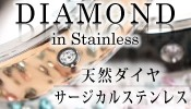 ダイヤ・イン・ステンレス【全品保証書付】