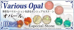10月のスペシャル誕生石 オパール