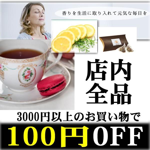 店内全品3000円以上お買い物で100円off