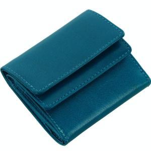 財布 コンパクト メンズ 小さい財布 本革 三つ折り財布 Mia Borsa 三つ折り オイル レザー [ネコポスで送料無料][名入れ 可能]|sankyo shokai-三京商会