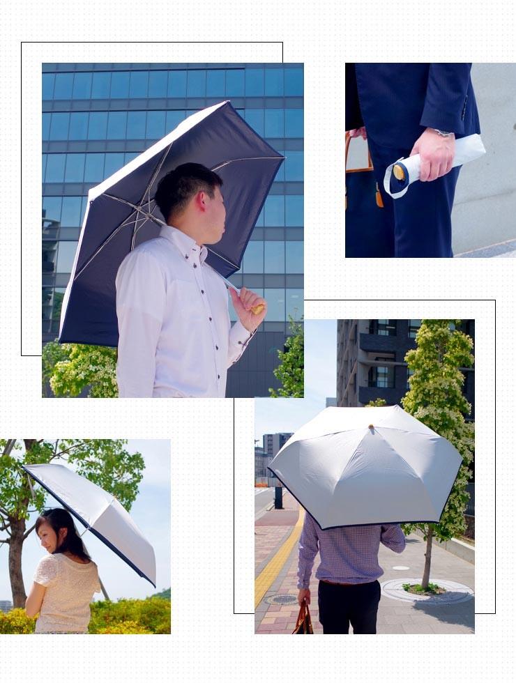 猛暑対策クール日傘