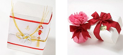 プレゼント包装について
