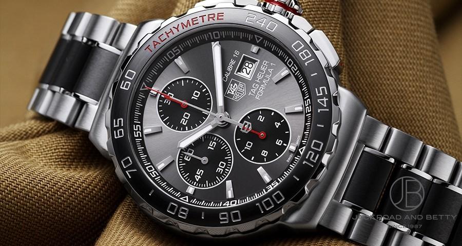 Tag Heuer Formula 1 Chronograph >> タグ・ホイヤー TAG HEUER フォーミュラ1 クロノグラフ CAU2011.BA0873 【新品】 時計 ...