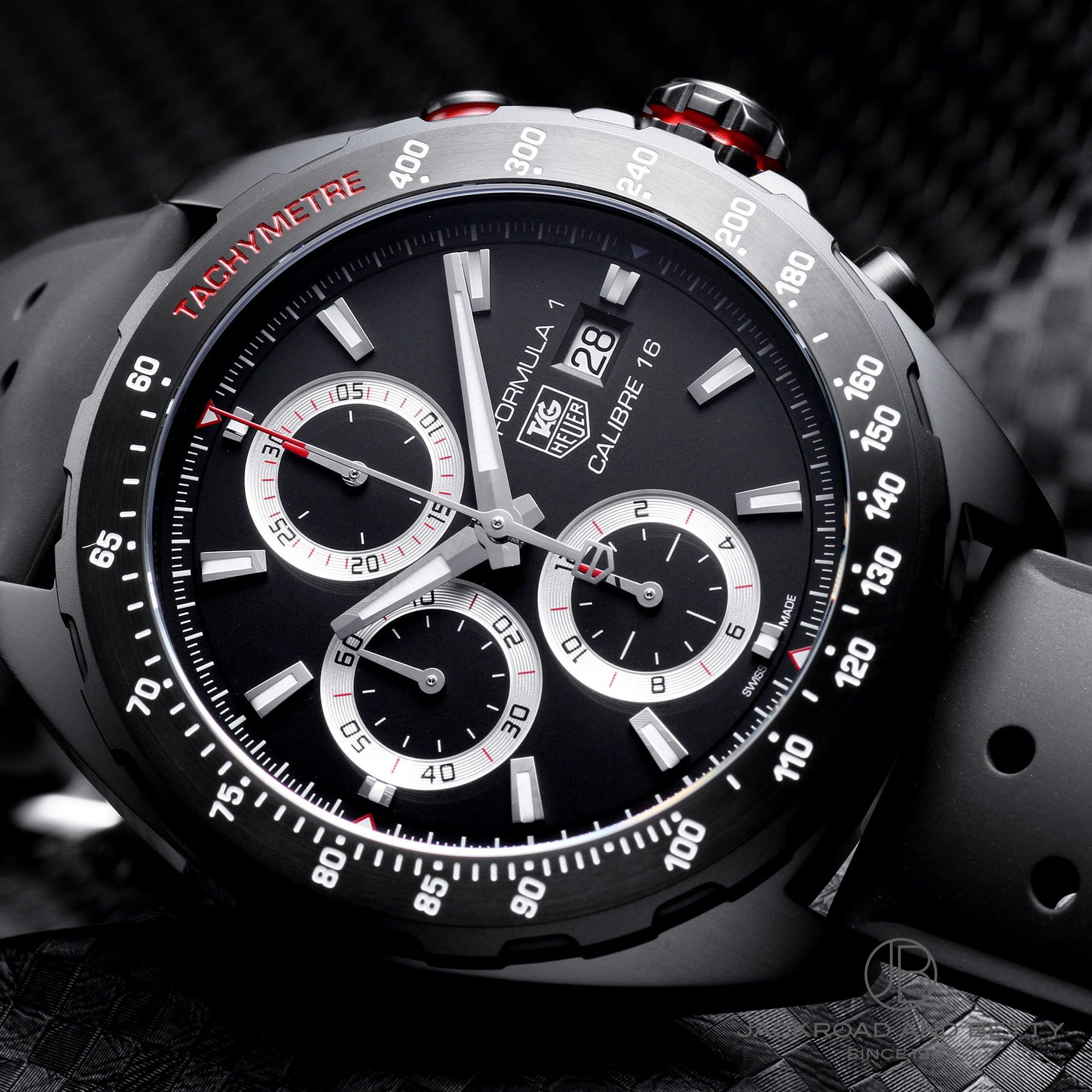 タグ・ホイヤー TAG HEUER フォーミュラ1 クロノグラフ フルブラック (Ref.CAZ2011.FT8024 / Formula 1 Chronograph Full Black )