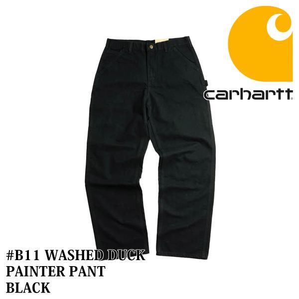 カーハート Carhartt B11 ウォッシュド ダック ペインターパンツ (WASHED DUCK WORK PANT ワークパンツ)|jalana|10