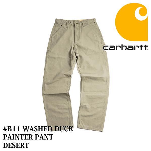 カーハート Carhartt B11 ウォッシュド ダック ペインターパンツ (WASHED DUCK WORK PANT ワークパンツ)|jalana|11