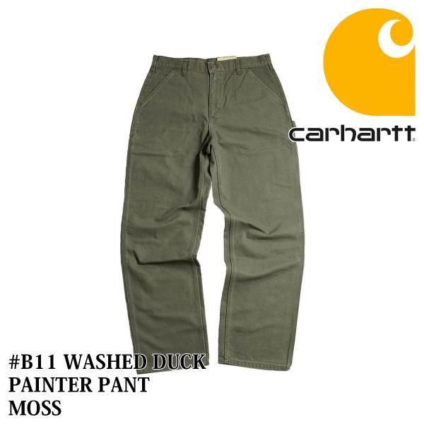カーハート Carhartt B11 ウォッシュド ダック ペインターパンツ (WASHED DUCK WORK PANT ワークパンツ)|jalana|12