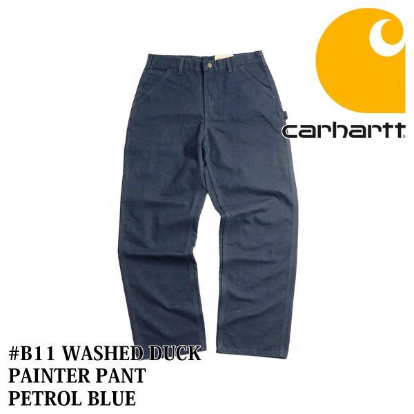 カーハート Carhartt B11 ウォッシュド ダック ペインターパンツ (WASHED DUCK WORK PANT ワークパンツ)|jalana|13