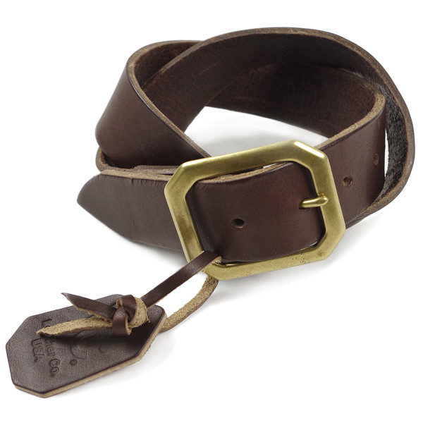 WCLC ウエストコーストレザーカンパニー ヘビーサドルレザーベルト アメリカ製 米国製 (4.5〜5mm厚 West Coast Leather Company MADE IN USA)|jalana|07