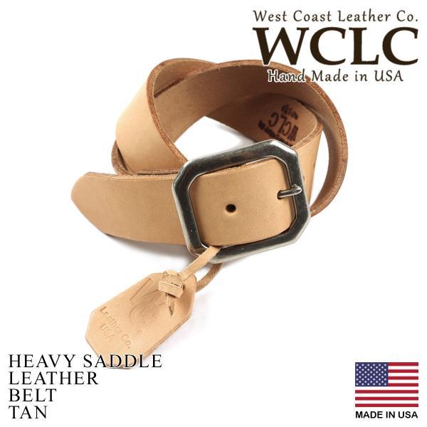 WCLC ウエストコーストレザーカンパニー ヘビーサドルレザーベルト アメリカ製 米国製 (4.5〜5mm厚 West Coast Leather Company MADE IN USA)|jalana|08