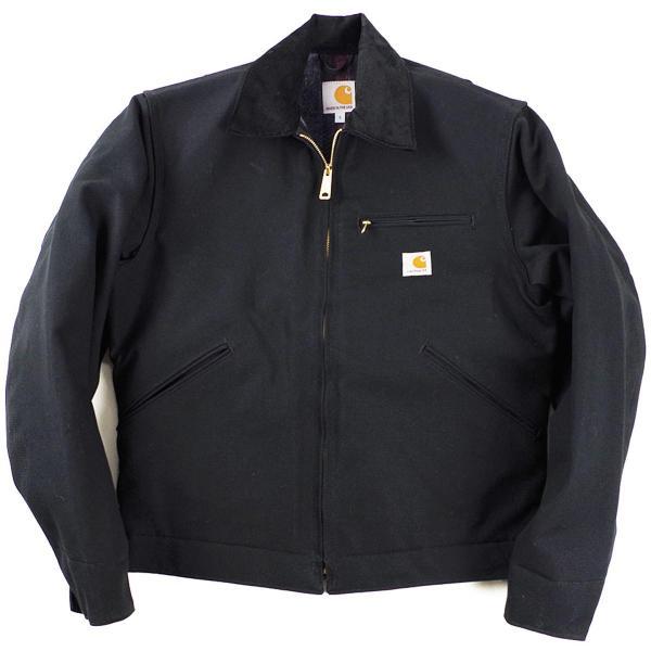 カーハート Carhartt J001 ダック デトロイトジャケット ブランケット裏地 (米国製 アメリカ製 Duck Detroit Jacket ワークジャケット)|jalana|08