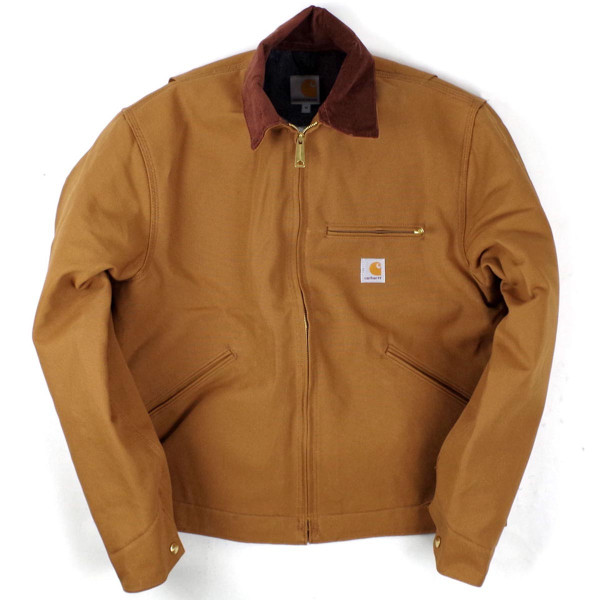 カーハート Carhartt J001 ダック デトロイトジャケット ブランケット裏地 (米国製 アメリカ製 Duck Detroit Jacket ワークジャケット)|jalana|07