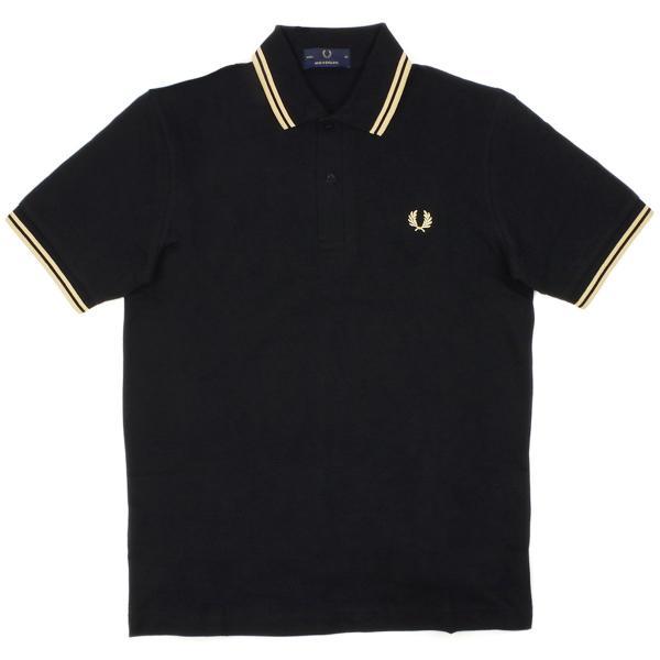 フレッドペリー FRED PERRY M12 ツインティップド 半袖 ポロシャツ(TWIN TIPPED 英国製 イングランド製 鹿の子) jalana 12