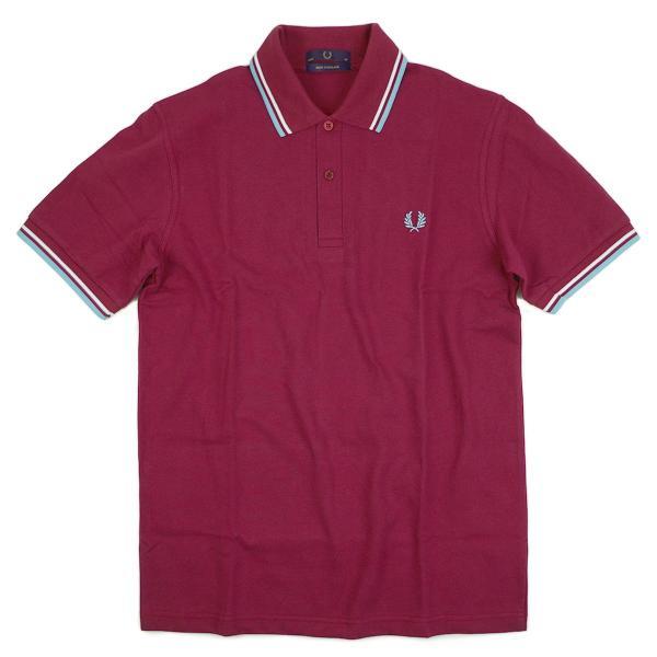 フレッドペリー FRED PERRY M12 ツインティップド 半袖 ポロシャツ(TWIN TIPPED 英国製 イングランド製 鹿の子) jalana 14