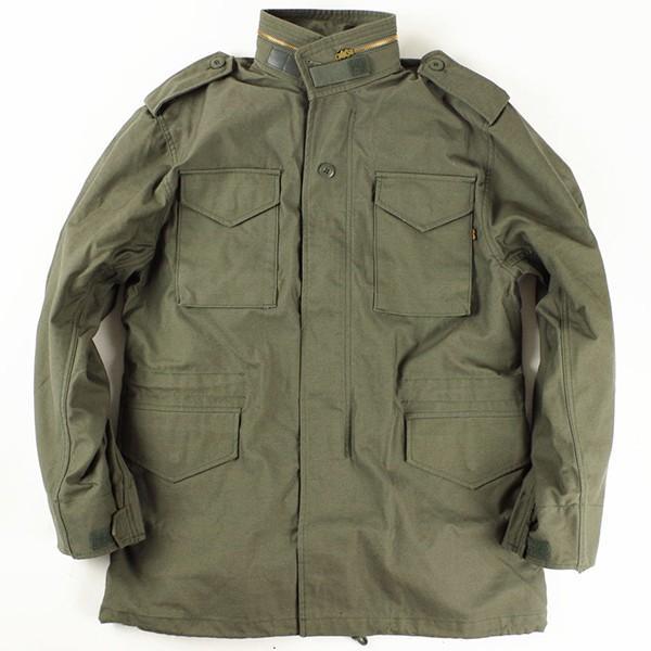 アルファ インダストリーズ ALPHA M-65 フィールドジャケット  (M65 FIELD JACKET INDUSTRIES FAIR35)|jalana|08