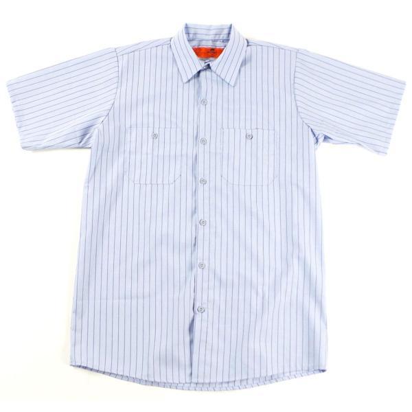 レッドキャップ REDKAP #SP20 半袖 ストライプ ワークシャツ  (INDUSTRIAL STRIPE S/S WORK SHIRT) jalana 10