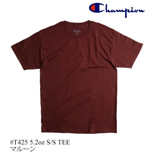 チャンピオン Champion #T425 5.2オンス 半袖 Tシャツ ビッグサイズ (大きいサイズ 無地 米国流通モデル)|jalana|17