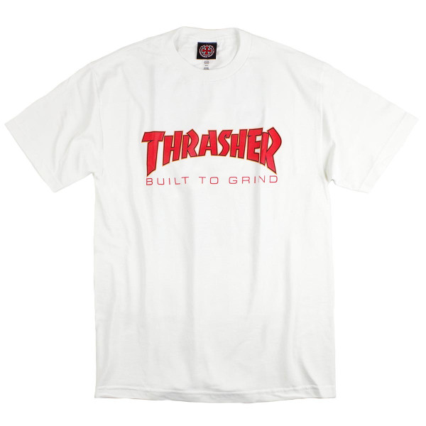 インディペンデント X スラッシャー コラボレート 半袖 Tシャツ ビルドトゥグラインド (BTG INDEPENDENT THRASHER Wネーム インディ)|jalana|07