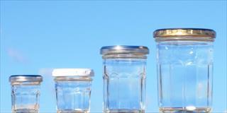 ガラス瓶卸問屋の小口通販です