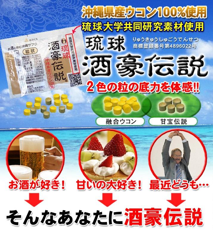 琉球酒豪伝説 琉球大学共同研究素材使用