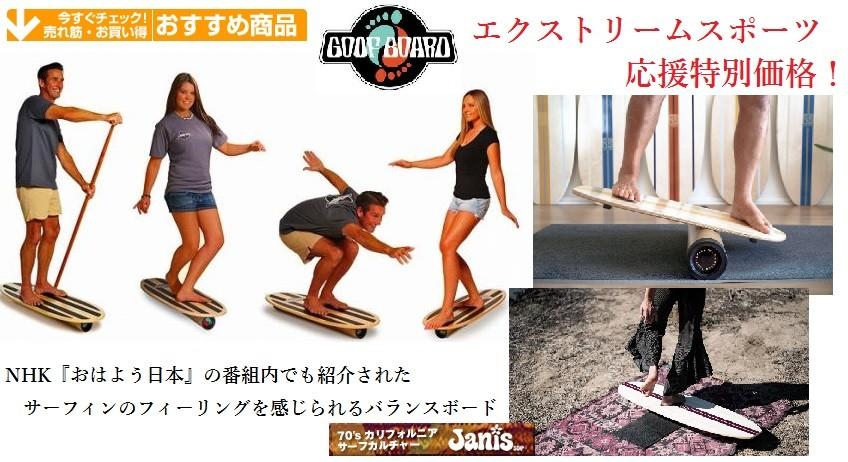 サーフィントレーニング スケートボード エクストリームスポーツ 応援特別価格! グーフ ボード