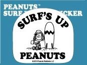 Peanuts surf