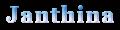 Janthina ロゴ