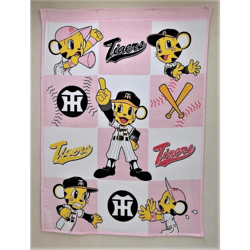 タオルケット 日本製 阪神タイガース トラッキーとラッキー メーカー直販 シングル|japan-blanket|08