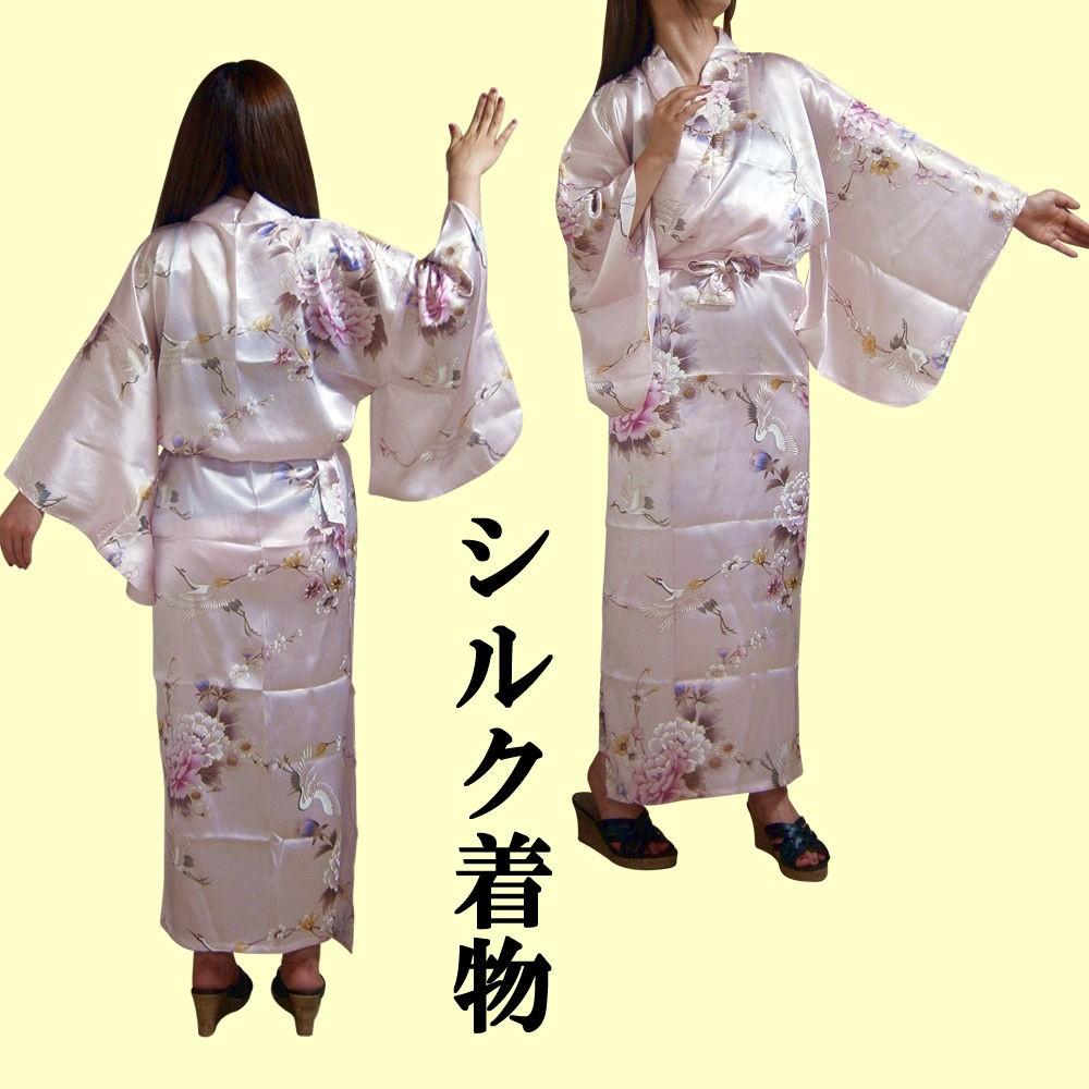 ローブ感覚で着られる簡単着物