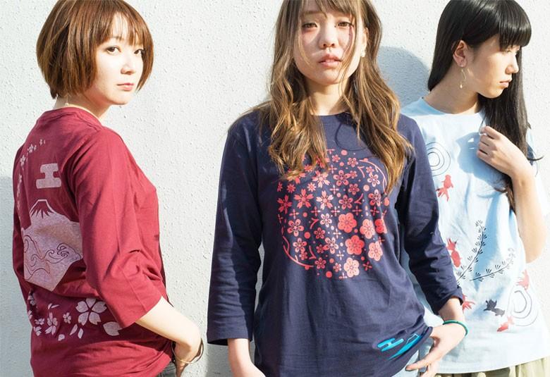 ジャパニーズスタンダード:和柄Tシャツイメージ写真