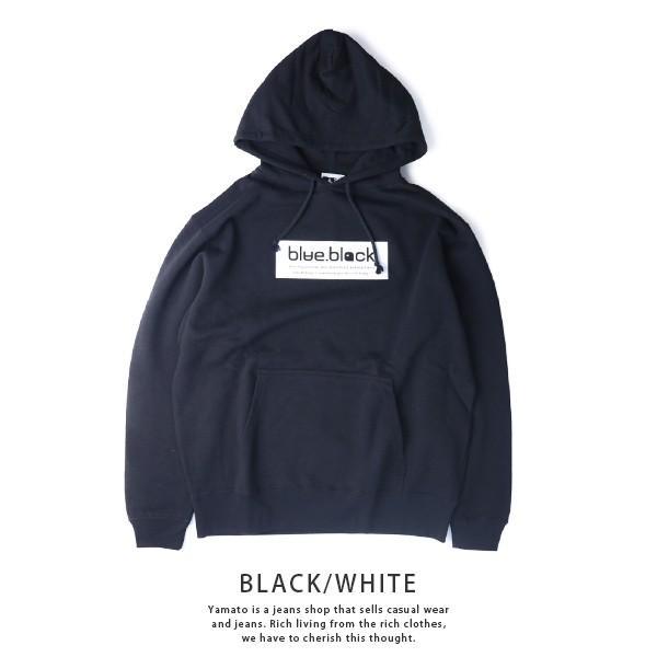 blue.black パーカー ブルーブラック パーカー BOX LOGO PULLOVER PARKA メンズ プリント バス釣り フィッシング アウトドア BBP-001|jeans-yamato|11