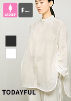 【 TODAYFUL トゥデイフル 】 Slub Dress Shirts スラブ ドレス シャツ 12110405