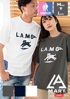 【LUMBER ランバー】The L.A.Martコラボ Key Pocket Tee キーポケットS/S Tシャツ 217002