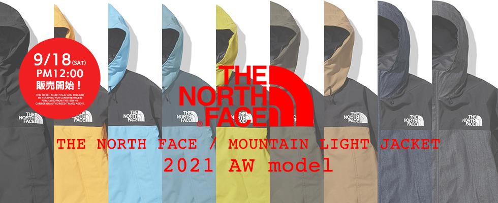THE NORTH FACE /MOUNTAIN LIGHT JACKET販売開始