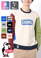 【CHUMS チャムス】CHUMS Logo Crew Top ロゴクルースウェット CH00-1299