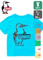 【CHUMS チャムス】Kid's Booby Logo Hanabi T-Shirt キッズ ブービーロゴ ハナビ Tシャツ CH21-1188