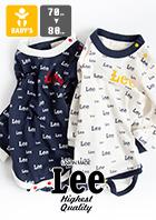 【Lee リー】ベビー LOGO L/S ROMPERS ロゴL/Sロンパース LK0723