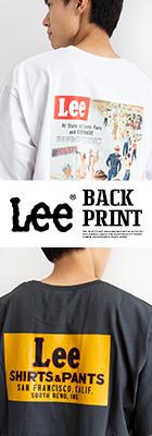 【Lee リー】BACK PRINT S/S TEE バックプリントS/S Tシャツ LT2958